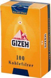 Gizeh Aktivkohlefilter Joint